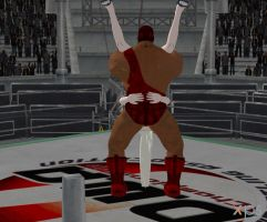Tombstone piledriver standing 3.0 by Umbacano100