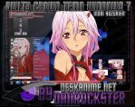 Inori Yuzuriha Theme Windows 7 by Danrockster