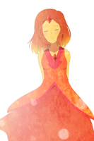flame princess by Tsumamori