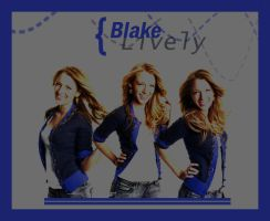 Blake Lively by unterdersonne