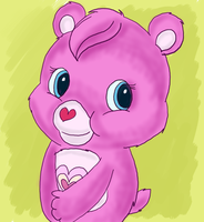 Wonderheart Bear by jennytablina