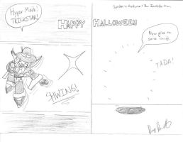 Happy Halloween from Spider by BurnerManEXE