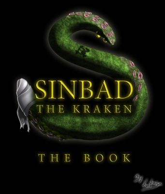 Sinbad Book Cover by daimwn