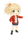 Chibi Mordred by luililie