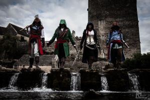 Assassin's Creed Unity Cosplay by BradorCosplay