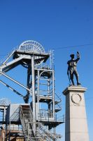 Miner's Monument by mr-macd