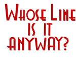 Whose Line is it Anyway? Red Font by ENT2PRI9SE