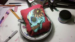 Calavera Finished 1 by DeviousDevilDoll