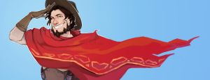Name's McCree by MoodyFirefly
