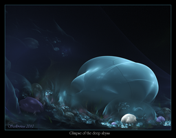 Glimpse of the deep abyss by Szellorozsa