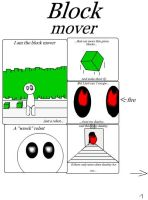 Block Mover Comic by Pronoespro