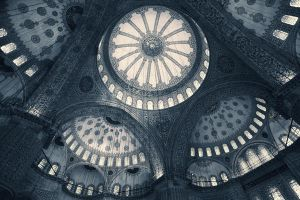 inside the Blue mosque by slatkatajna