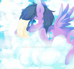 Up in the Clouds by ShotaDeer