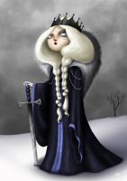Winter Queen by RocioGarciaART