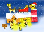Pichu christmas by Legendrawing