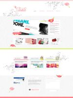 My official site design by MissNasuta