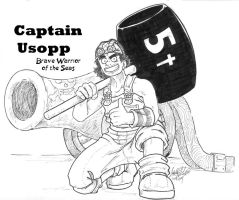 Captain Usopp by KaleiC