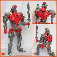 Bionicle MOC: King of Hearts by Rahiden