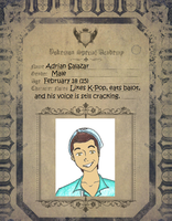 PSA Application Sheet: Adrian Salazar by shaolinfan1