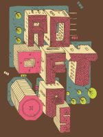 Rooftops - Birds Eye Shirt by a-mar-illo
