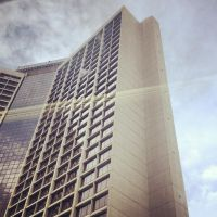 Bus View - Atlanta Hilton by wiebkefesch