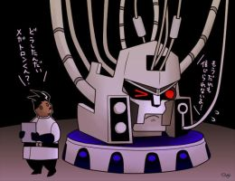 Megatron and Sumdac by J-666