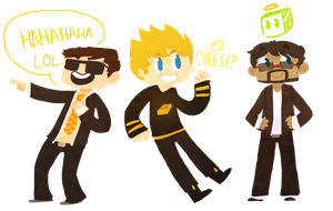 Hey It's Bodil, Brice and Jordan! by 1WebRainbowe1