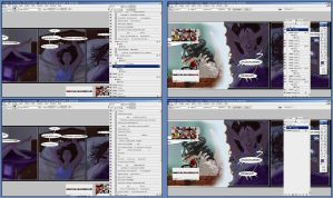 feast on the chaos that is my workflow XD by sigeel