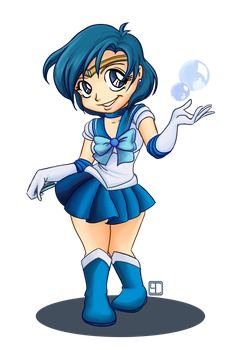 Sailor Mercury by chanimated