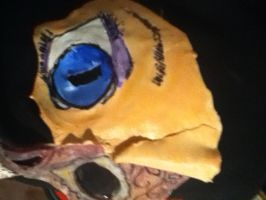 Anime Day of the Dead Mask by karrish