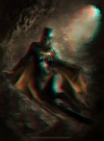 Batgirl 3-D conversion by MVRamsey