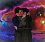 Nebula Kiss - watercolorfilter by Scifiangel