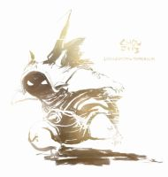 Rammus, the Armordillo (June 17th, 2013) by Alex-Chow