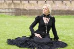 victorian inspired black gown, by Somnia Romantica by SomniaRomantica