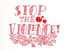 Stop The Violence by rcsi1
