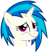 Vinyl Scratch - Proud moment (updated) by namelesshero2222