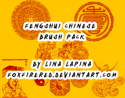 FengShui Chinese Brushes by FoxFireRed