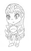 chibi Kunzite Tales Of Hearts R sketch by MikariStar