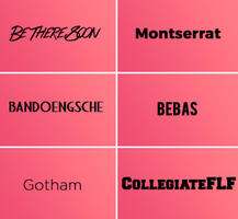 Fav fonts by beezzys