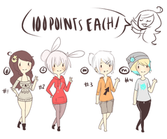 adoptables 5 CLOSED by solarsign
