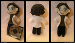 MGS2 Otacon Plush by Belle43