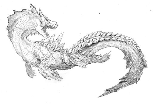 Lagiacrus by CrossScale