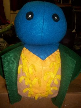 Dorium Maldovar (close up) Plushie/Pillow by AticaXAnnon