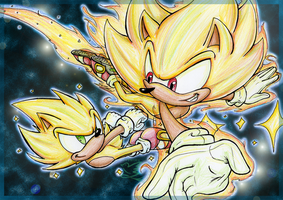 Super Sonic Generations by Feniiku