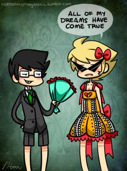 HS: Super Kawaii Prom Time by CluelessCaptain