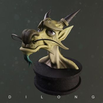 Dilong render version by Entropician