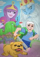 Adventure Time by tskrening
