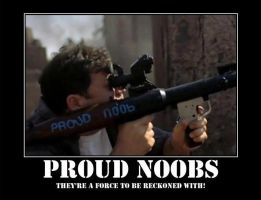Proud Noobs by spyash2