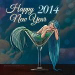 New Year Illustration 2014 by mackdanife