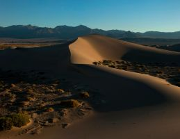 Death Valley Dunes III by jamezevanz